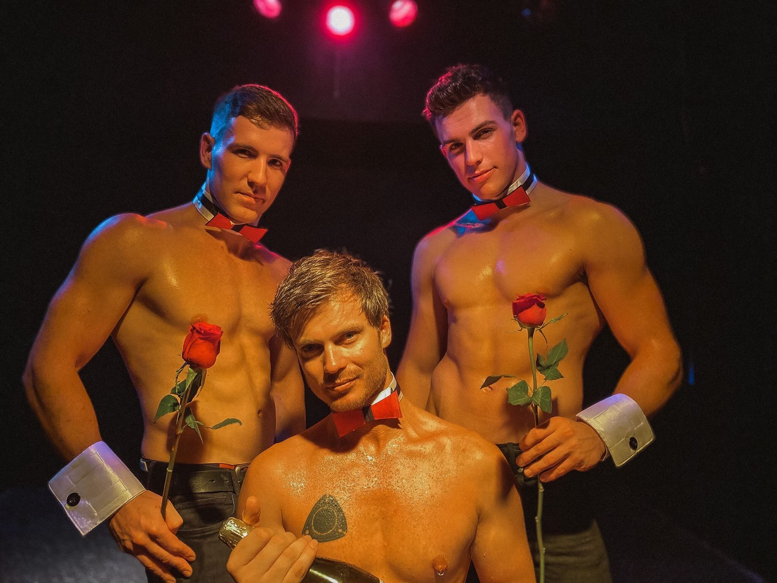 Collar and Cuffs   Male Strippers Perth